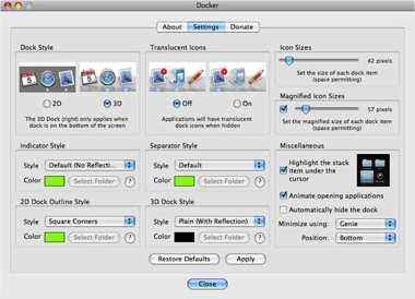 Docker Screenshot
