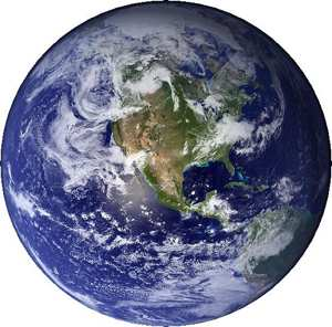 Earth Blue Marble Cropped
