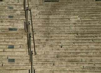 schody do Katedry Chrystusa Pana w Katowicach