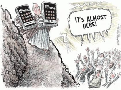 Iphone Tira Comica